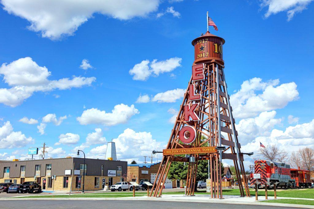 chilton centennial tower in elko