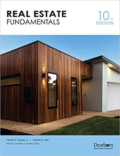 Real Estate Fundamentals 10th Edition