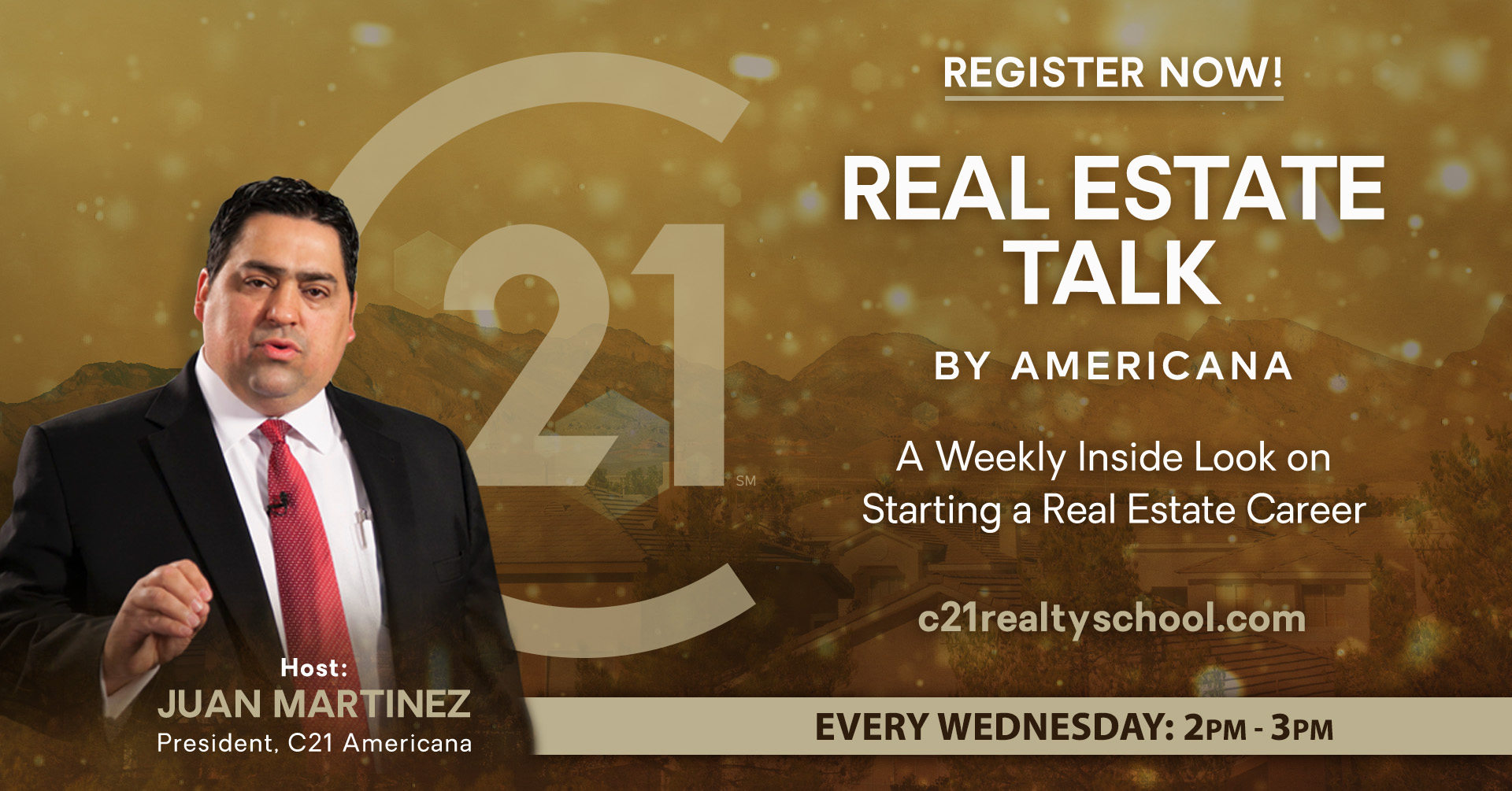 Real Estate Talk Event - A Weekly Look at Starting a Real Estate Career