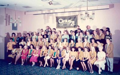CENTURY 21 Tenace Realty group photo in the 1980's