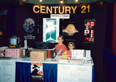 CENTURY 21 Tenace Realty Career fair in the 1990's