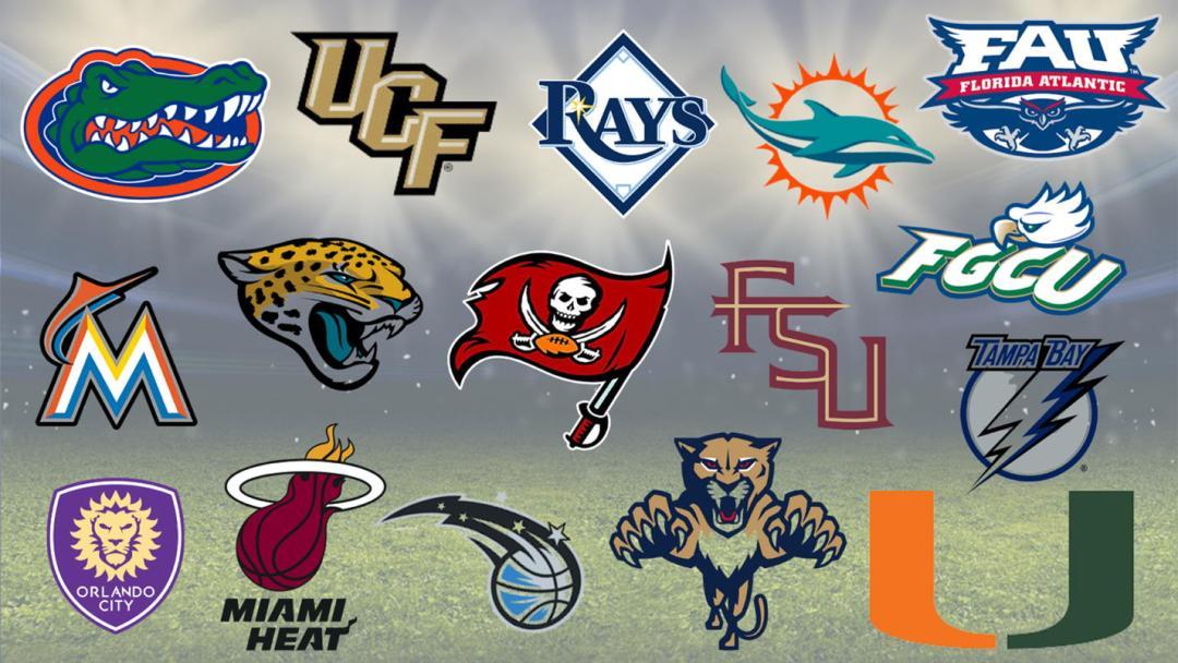 Florida Sports team logos