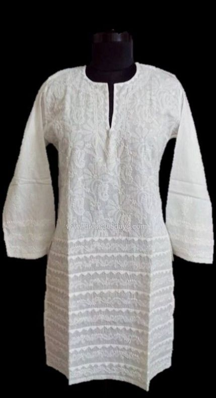 Traditional Chikan Kurta