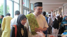 Sahabat Indonesia, mas Iwan bersama putrinya Syasya.