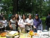 Suasana Piknik Lebaran
