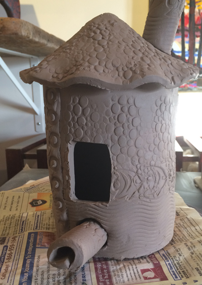 Bird House by Cyndi CAsemier