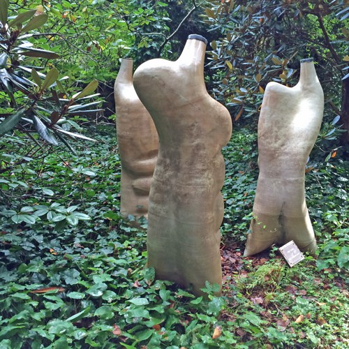 Sculptures in the Hopper Garden