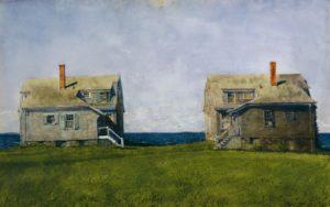 Jamie Wyeth - Twin Houses