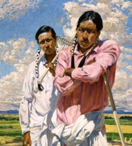 Me and Him by Walter Ufer