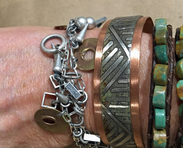 bracelets by Casey Bemis and Lochlin Smith