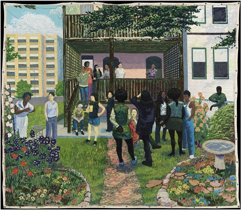 Kerry James Marshall Garden Party