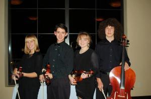 GHHS Stringed Quartet 2013