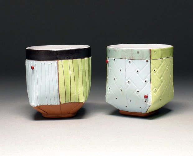 Liz Zlot Summerfield teabowls