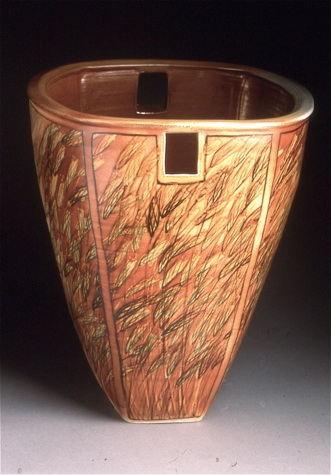 Kathi Jefferson tall bowl