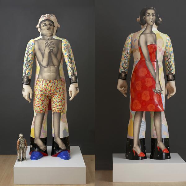 Sergei Isupov 8 foot sculpture