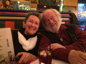 Robin Hopper and Judi Dyelle
