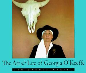 Georgia O'keefe book cover