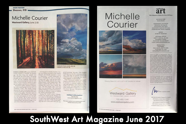 Southwest Art Magazine June 2017