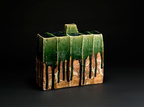 Ken Matsuzaki oribe vase