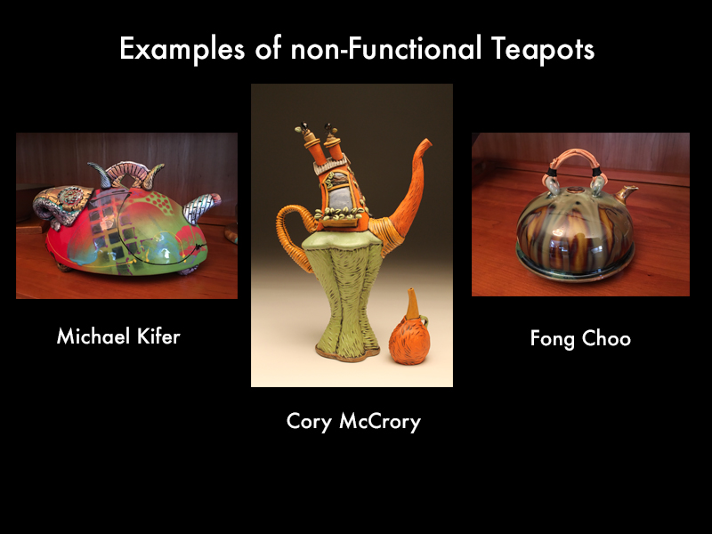 nonfunctional teapots