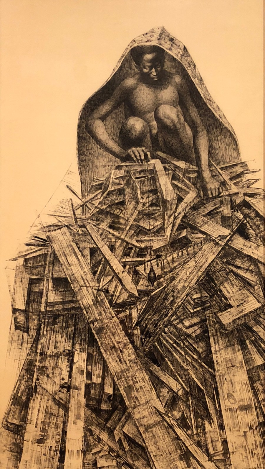 Birmingham Totem. 1963 church bombing by Charles White