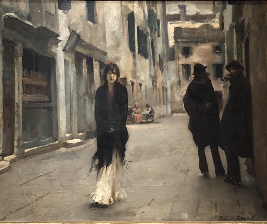 John Singer Sargent painting