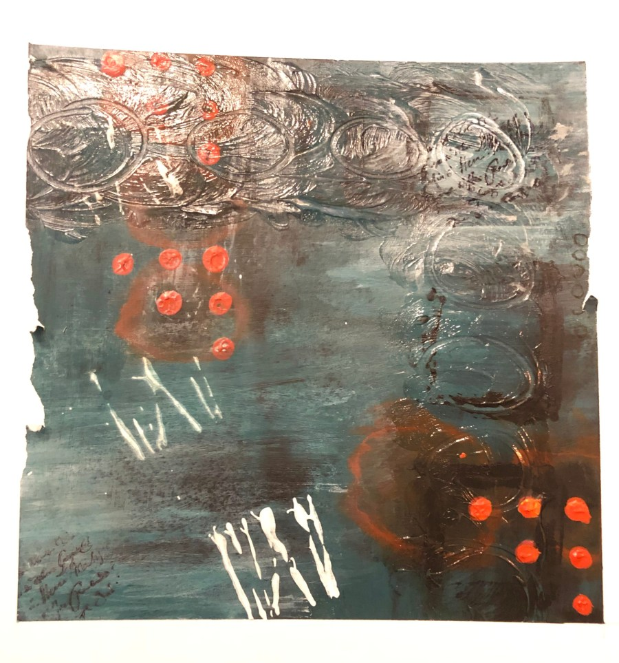 Abstract painting by Cyndi Casemier