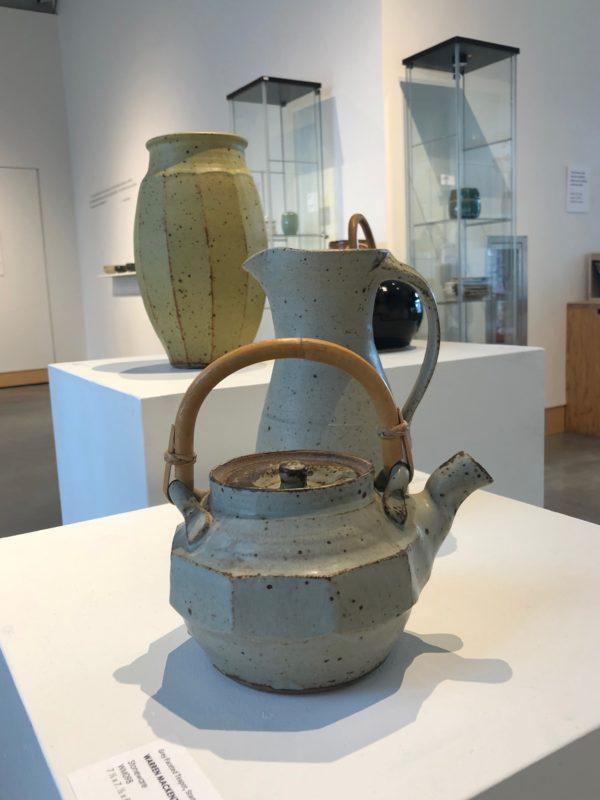 Warren MacKenzie teapots vases jugs