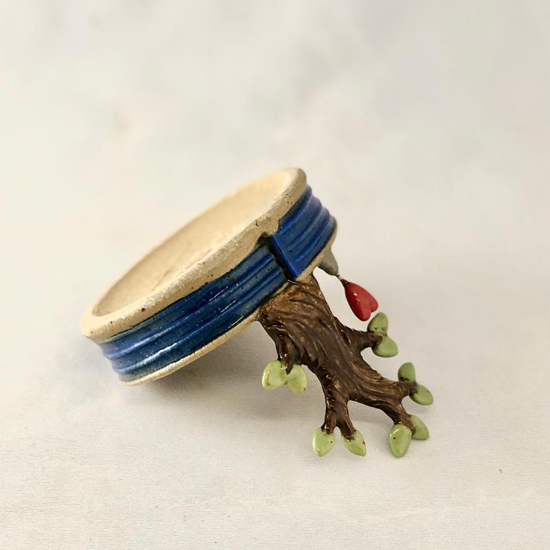 bottom of tree tray by Cory McCrory