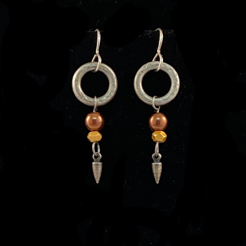 handmade earrings with dangles