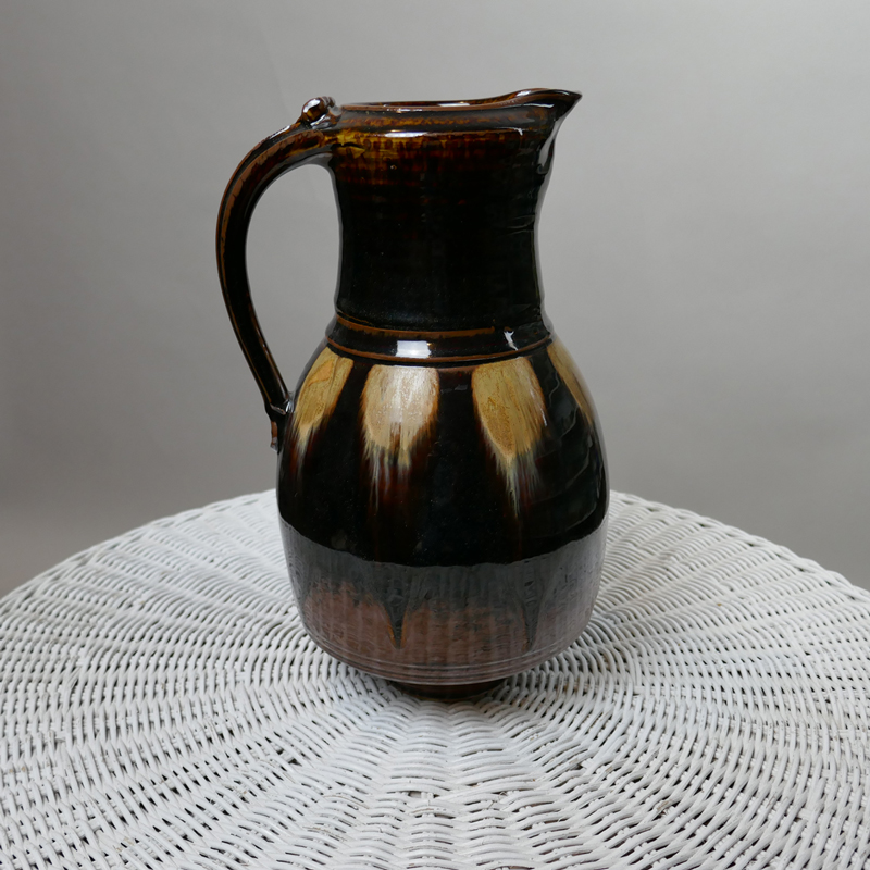 ceramic pitcher or vase