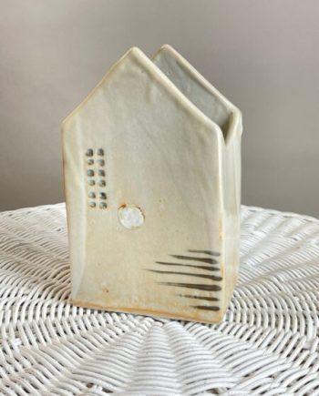porcelain house shaped vase