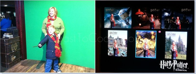 Harry Potter Green Screen Before and After Pic Watermarked