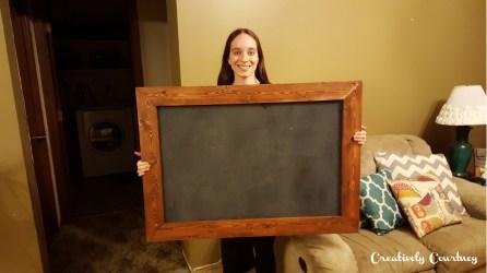 DIY Chalkboard 8