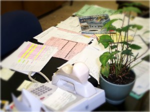 messy desk, C2C Resources Commercial Debt Collection
