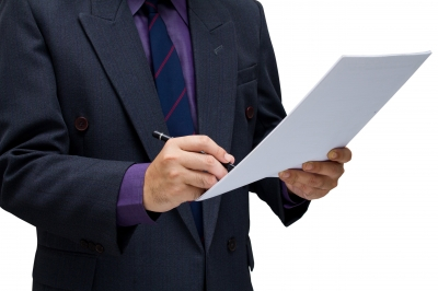Man with pen, C2C Resource Commercial Debt Collection
