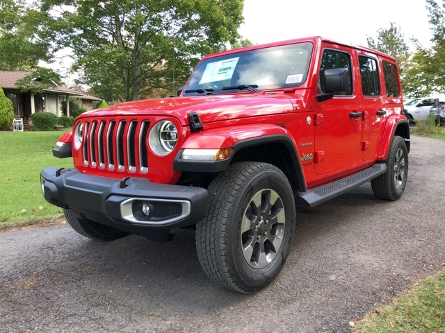 New 2018 Jeep Wrangler Unlimited Sahara Sport Utility For Sale