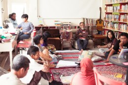 Suparto Brata, sharing about Surabaya's writing