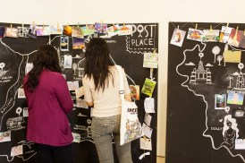 Post a Place, co-organised with LOS Art, for SUBfestive in Balai Pemuda, Dec. 2013