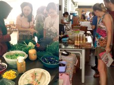 Healthy Farmers' Market every first Sunday of the month