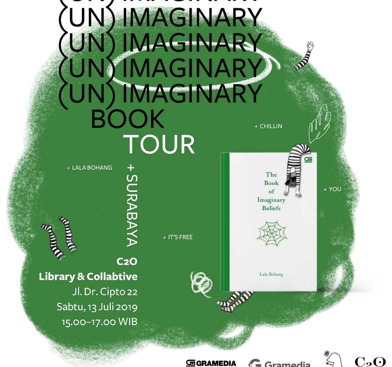 (Un)imaginary book tour di C2O, Surabaya