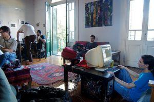 startup in livingroom