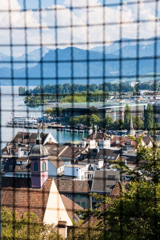 Lucerne View from Schirmerturm