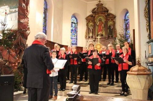 Concert à Friedolsheim Noël 2016