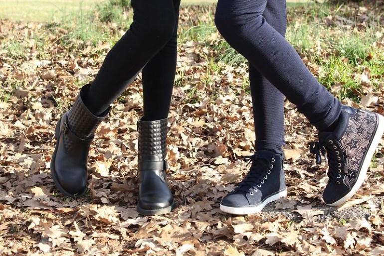 outfit per la scuola con scarpe Melania