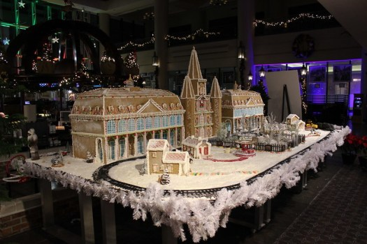 Jackson Square in Gingerbread at Sheraton, New Orleans