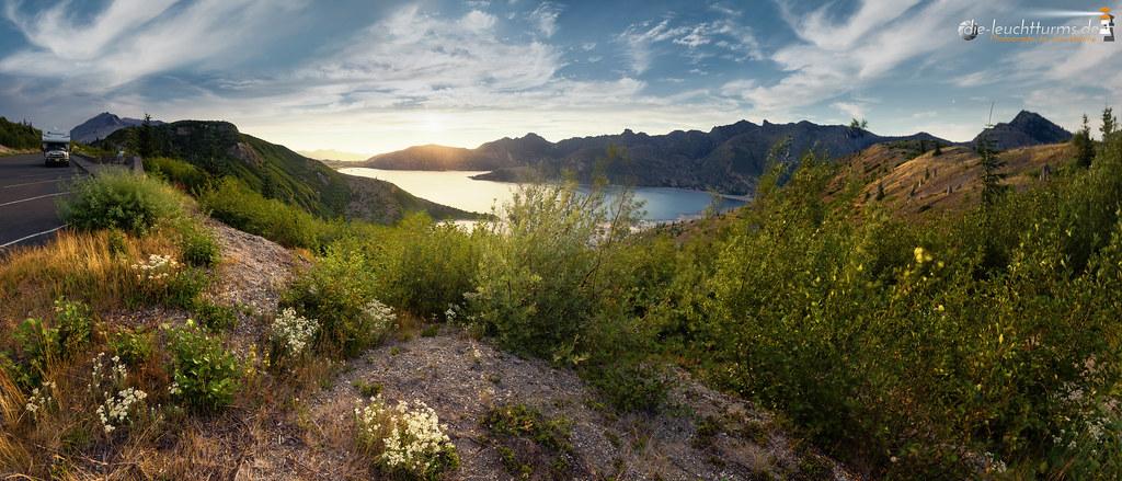 Spirit Lake in evening light