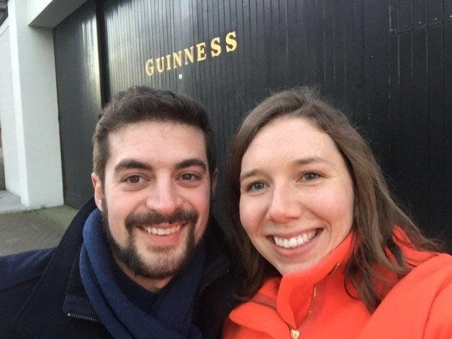 We didn't go into Guinness, but we passed it!