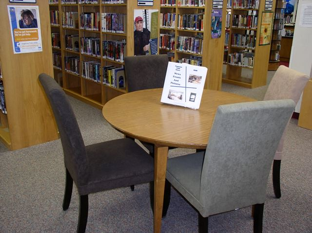 Cool Library Furniture, Etc.