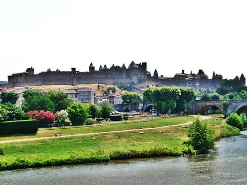 Patrimonio de la Humanidad en Europa y América del Norte. Francia. Ciudad histórica fortificada de Carcasona.
